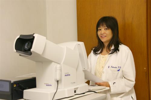 最新の緑内障検査機